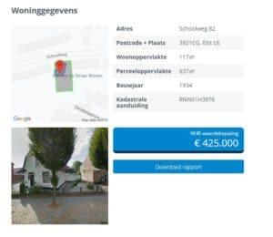 Woningwaarde in Veenendaal opvragen