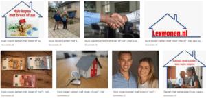 LexWonen voor hypotheken met familieleden tot 4 aanvragers